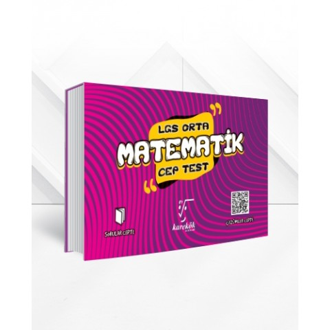 8.Sınıf LGS Cep Test Matematik (Orta)