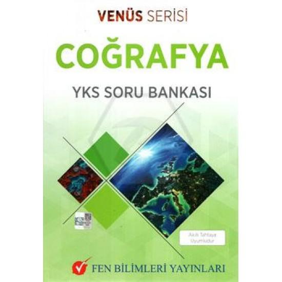 TYT-AYT Coğrafya Soru Bankası Venüs Serisi